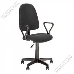 Кресло Эконом GTP J RU ткань черная C-11, 501764