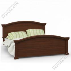 Камелия ABC-01.F1L, Кровать 2 спальная (1600мм)